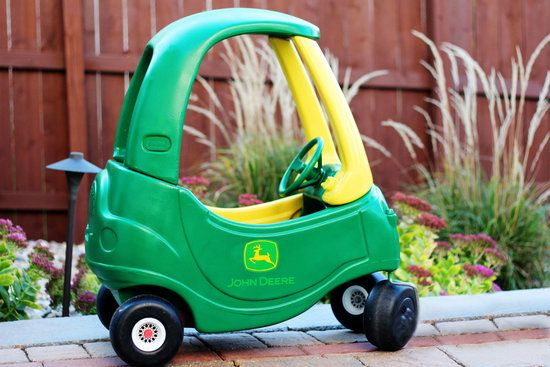 Cozy Coupe Makeover: A John Deere Tractor For Your Little Country Boy