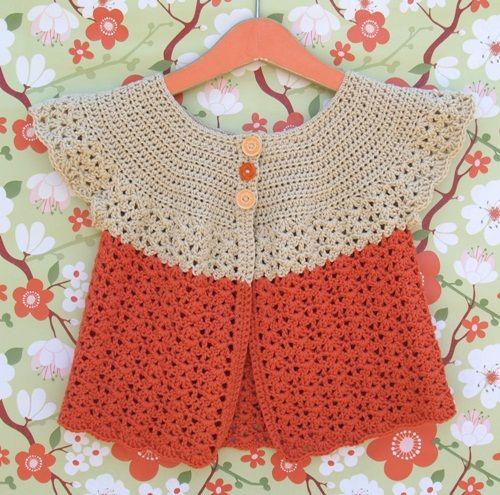 Chalecos a crochet para niñas (8)
