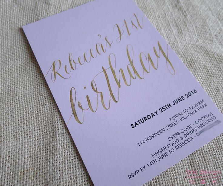Rebecca 21st