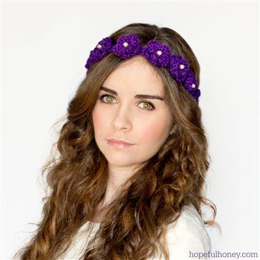 35 best crochet headbands and hair accessories images on