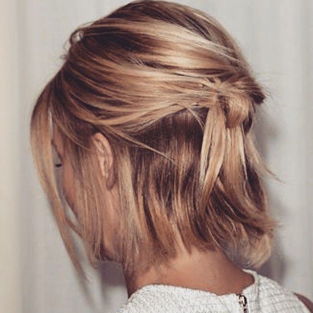 best 25 short hair ponytail ideas on pinterest short