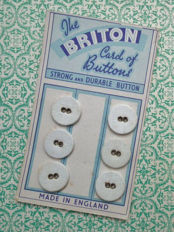 Brit knoppen  antieke Wasserij knoppen op de door sewmuchfrippery
