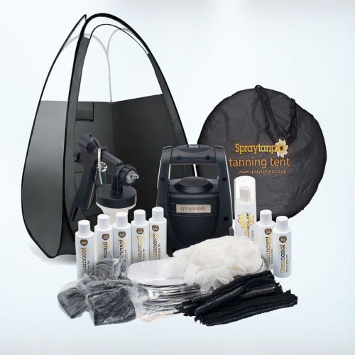 TS20-HVLP-Airbrush-Spray-Tan-Kit-with-machine-Tent-Tans-Tanning-accessories