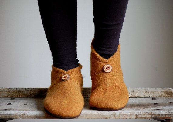 Slippers Sewing Pattern Women & Men sizes PDF Instant by WoolyBaby