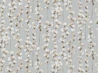 Honor Fjord | Saphira | Printed Cotton-Satin | Romo Fabrics | Designer Fabrics & Wallcoverings, Upholstery Fabrics