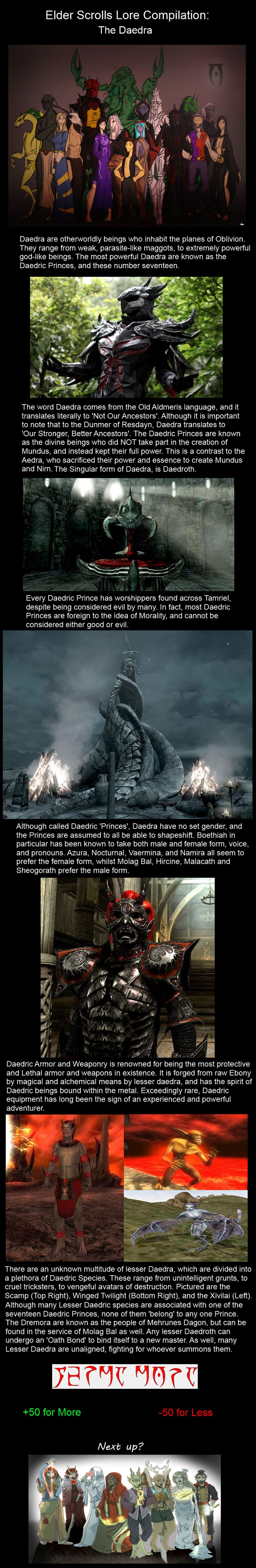 Elder Scrolls Lore 1: The Daedra  // funny pictures - funny photos - funny images - funny pics - funny quotes - #lol #humor #funnypictures