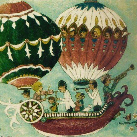 Hafta içinden uçarak kaçanlara, Pazar'ı bekleyenlere... The source of inspiration from Anatolia: Nuri Abaç #beatiful #anatolia #anatoliangirls #art #artist #nuriabaç #sanat #resim #inspiration #turkishpainters #güzel #pazarlar #happy #sunday