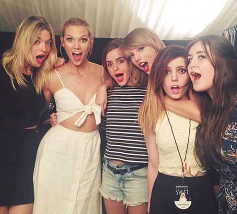 Taylor Swift Adds Emma Watson to Her Squad, Brings Pals Onstage: Pics - Us Weekly