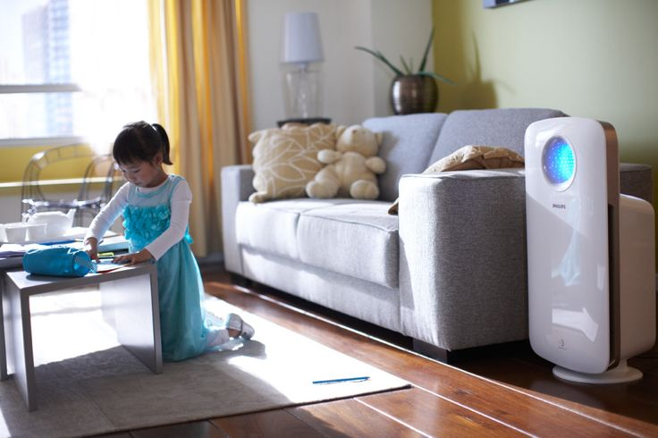 Cleaner Breathable Air with Philips Smart Air Purifier