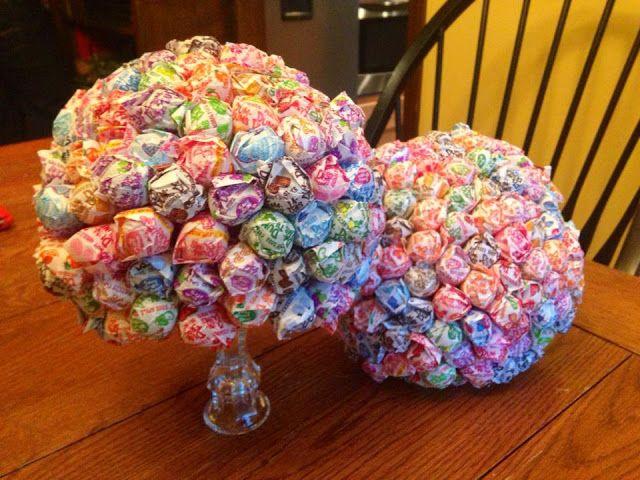 DIY sucker bouquet