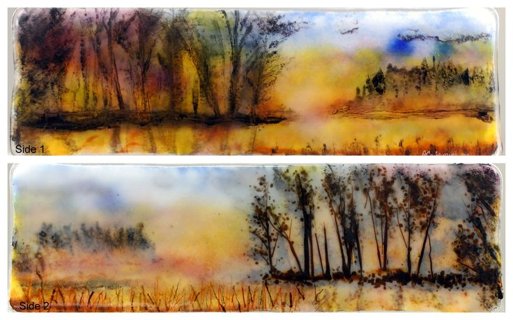 Small Works | Ann Cavanaugh Fused Glass