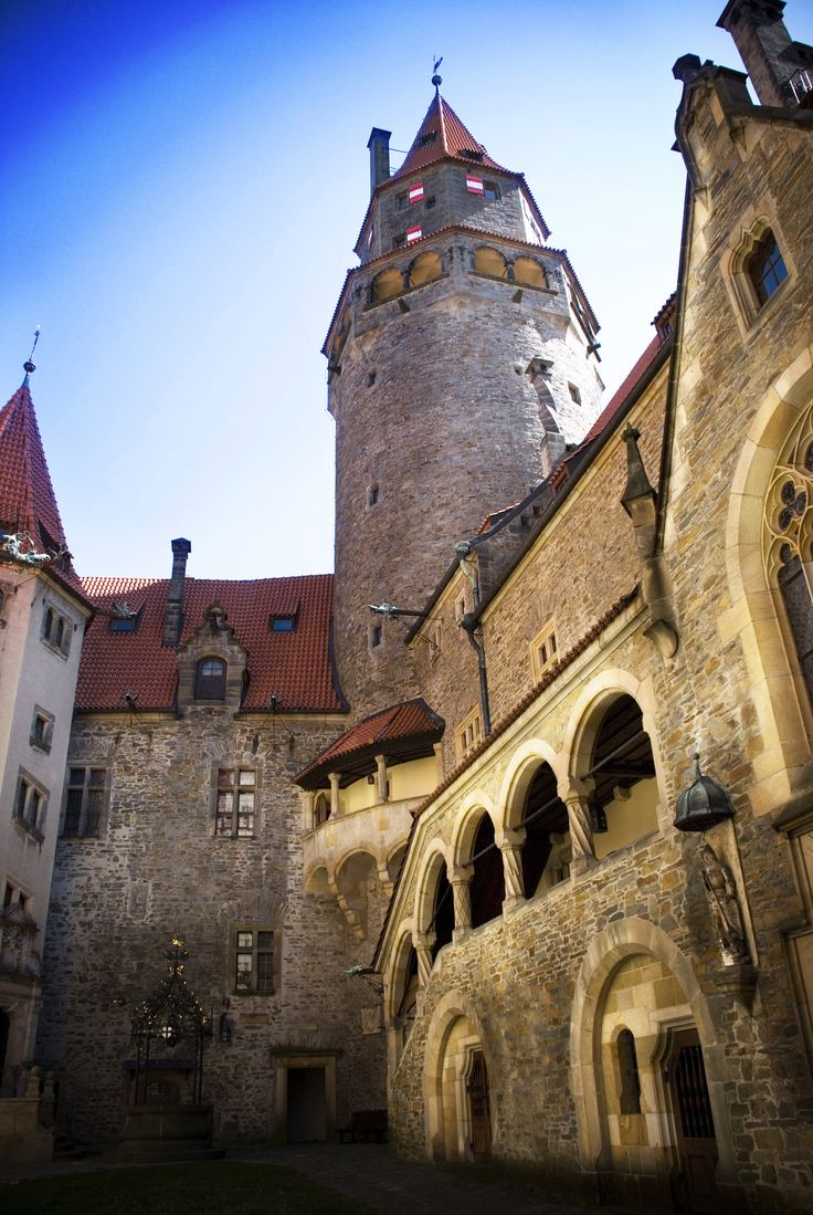 Hrad Bouzov/Bouzov Castle - One of the most popular and charming castles in the Czech Republic, Bouzov was founded at the beginning of the 14th century.