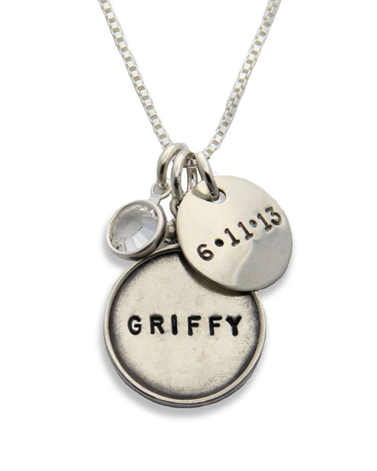 Jenny Present | Silver Mothers Personalized Necklace
