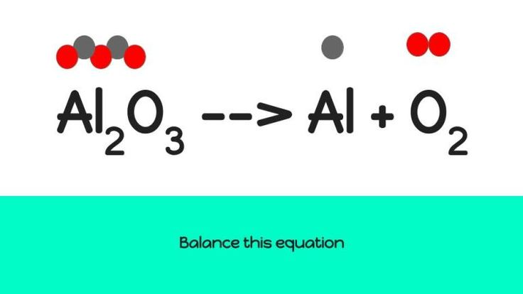 what does balancing equations mean