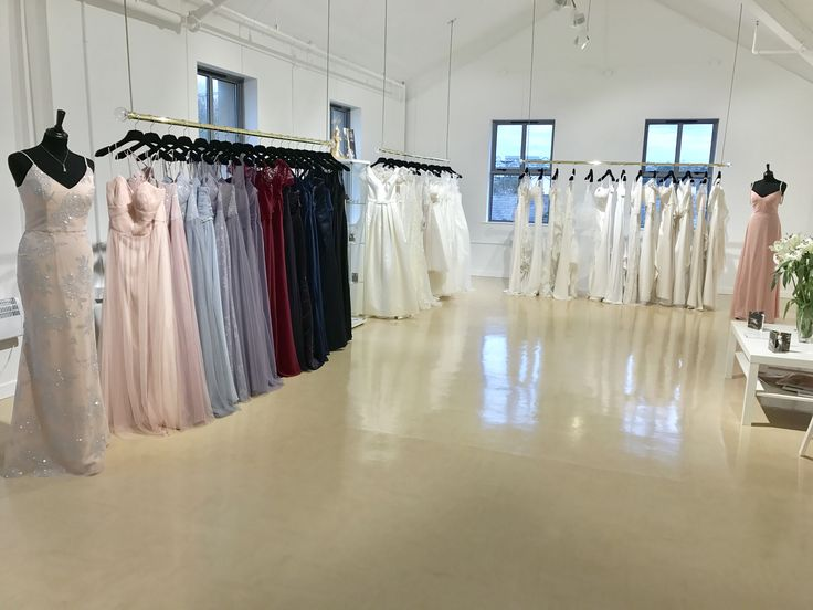 Zadika Bridal Showroom floor  Www.zadikabridal.ie