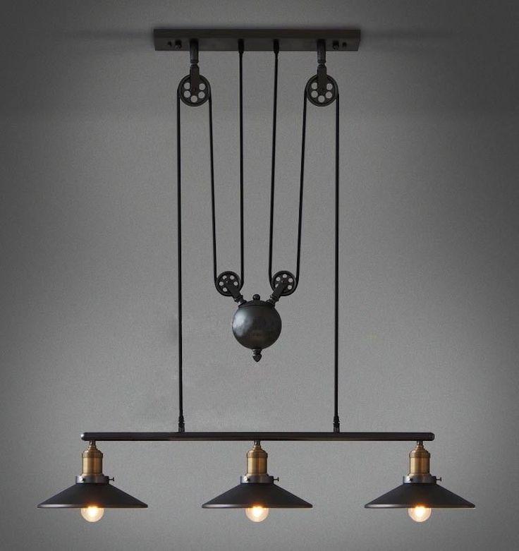 Industrial Style Ceiling Fan: US $495.00 New in Home & Garden, Lamps, Lighting & Ceiling Fans,  Chandeliers. Industrial LampsVintage IndustrialIndustrial StyleIndustrial  ...,Lighting