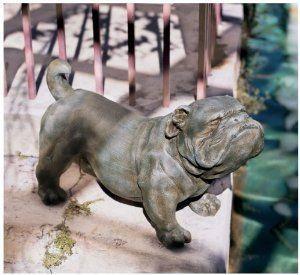"15.5"" English Bulldog Decorative Statue Sculpture by Artistic Solutions. $158.88"