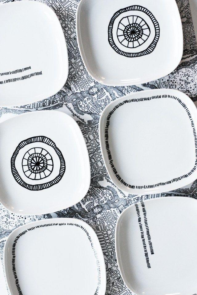 Hay proyectos de bricolaje y manualidades como este de pintar porcelana que te apetecen hacerlos nada más verlos. La técnica es muy sencilla: sobre unos platos de porcelana de color liso se dibuja …