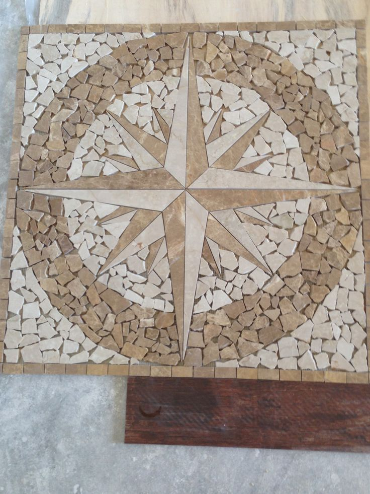 Compass Rose Floor Tile : Best images about tile on pinterest travertine