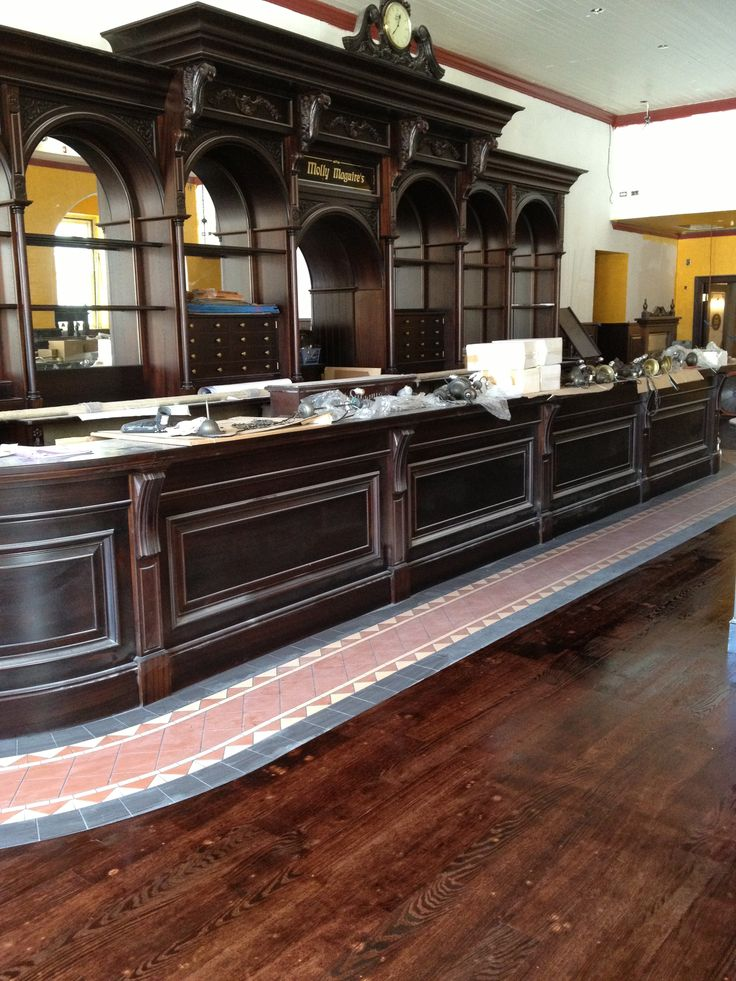 Irish Victorian Bar... almost complete