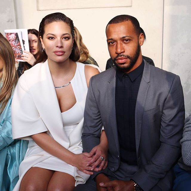 Ashley Graham and her husband Justin Ervin are ready for @maxmara show. Photo by @luizaferraz @fashiontomax @nichapats  via VOGUE THAILAND MAGAZINE OFFICIAL INSTAGRAM - Fashion Campaigns  Haute Couture  Advertising  Editorial Photography  Magazine Cover Designs  Supermodels  Runway Models