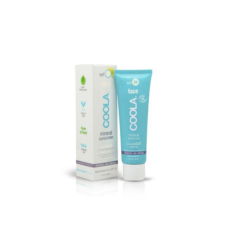 #Coola Mineral #Face #Matte #Tint #Unscented SPF 30 è una #protezione #solare leggermente #colorata, profumata, dona alla #pelle una finitura #opaca, minimizzando i #pori della pelle. Perfetta per l'uso quotidiano e di grande effetto come #base per il #trucco!  Ideale per tutte le pelli, dalla #normale alla #oleosa  - Libera da #conservanti  - #Resistente all' #acqua (max 40 minuti)  - Perfetta per chi #viaggia (dosaggio ammesso come #bagaglio a #mano)