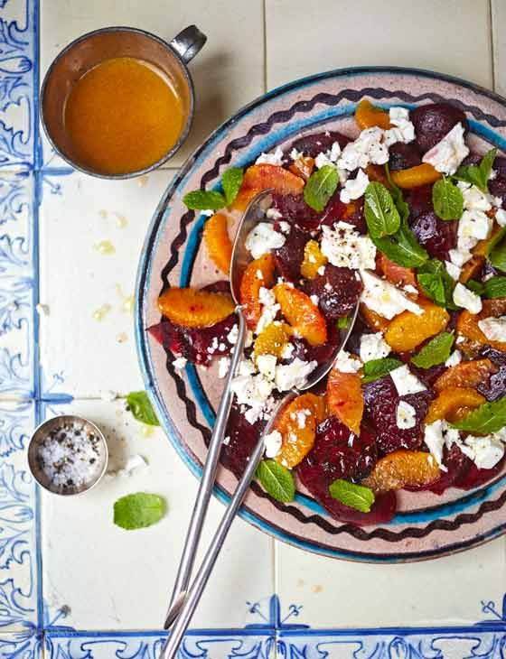 Beetroot, orange and feta salad. Delicious for a light meal or as a side dish, this summer recipe from John Gregory-Smith can be prepared in just 15 minutes.