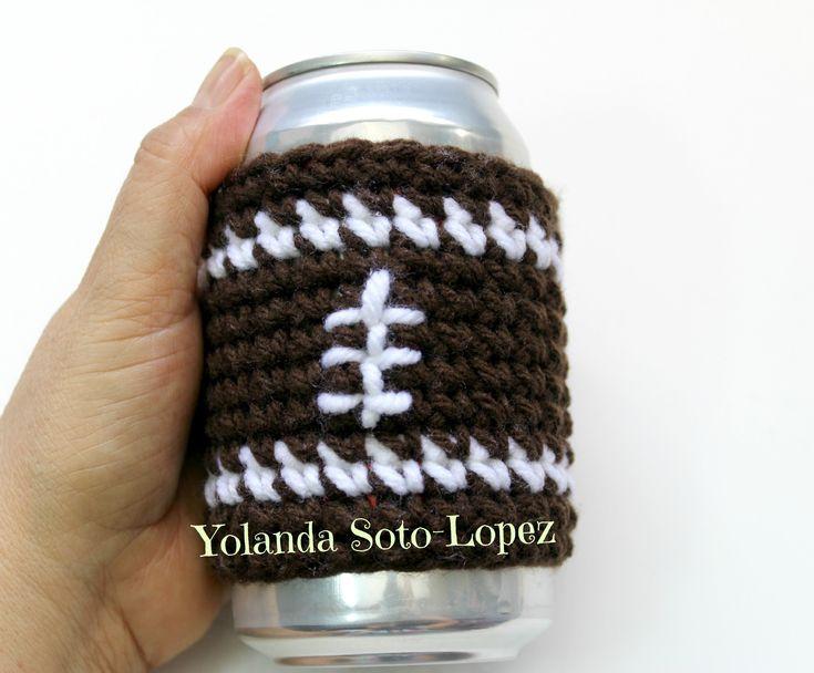 Regalo Dia de Padre - Cubierto para Botes/Botellas Tejido en crochet