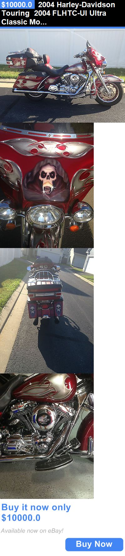 Motorcycles: 2004 Harley-Davidson Touring 2004 Flhtc-Ui Ultra Classic Motorcycle BUY IT NOW ONLY: $10000.0