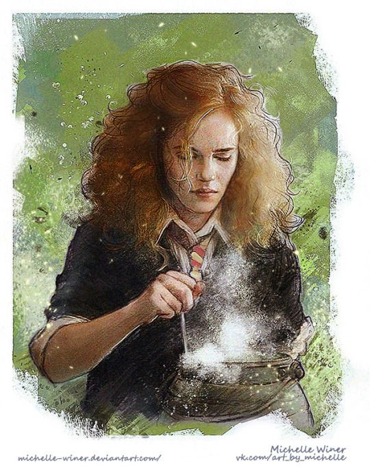 Hermione Granger by Michelle's world of art                                                                                                                                                                                 More