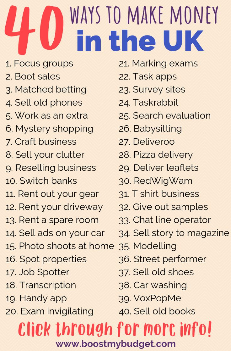 How to Earn Extra Money in the UK: 40+ Ideas – Our Rich Journey