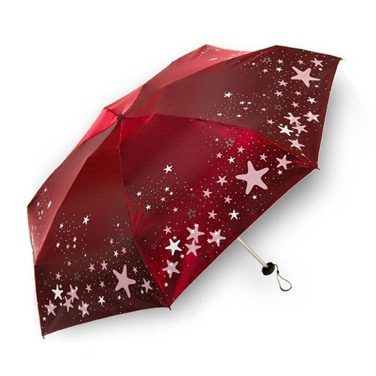 New Women Umbrella Sun Protection Ultralight Mini Anti UV Parasol Rain Umbrella in Clothes, Shoes & Accessories, Women's Accessories, Umbrellas | eBay!