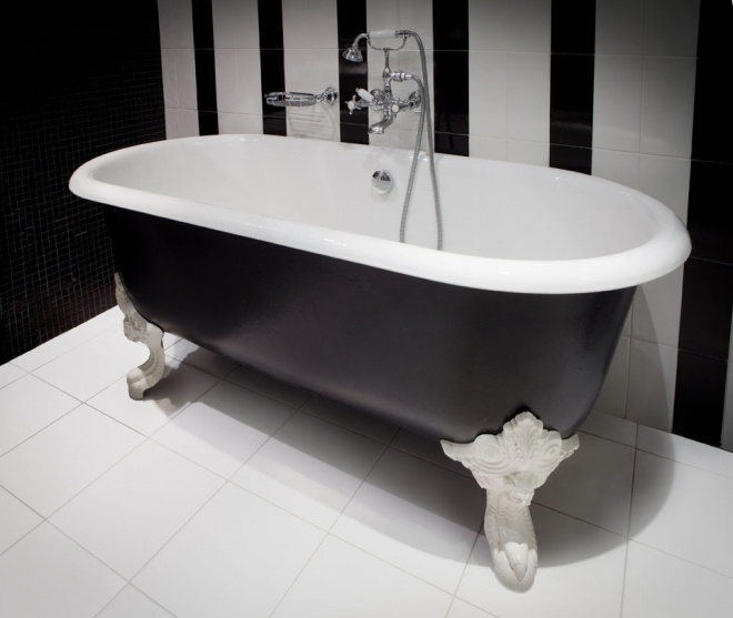 Les 20 meilleures id es de la cat gorie cedeo salle de for Peindre baignoire