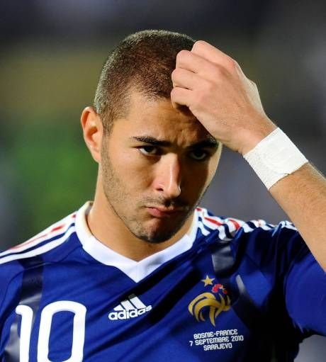 Karim Benzema - France NT That cute innocent look...