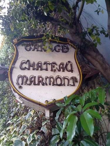 chateau marmont. west hollywood, ca. fortunate to have stayed here many times...cherished memories...and mistaken for a celebrity was a hilarious life moment