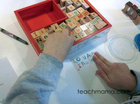 10 actividades para jugar con las letras | Entre Actividades Infantiles