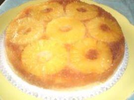 Gâteau à l ananas au caramel au micro -ondes