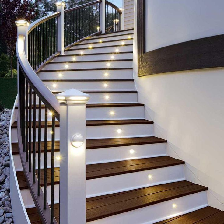 Unique LED stair lights can transform your stairwell and make your stairs safer We provide expert