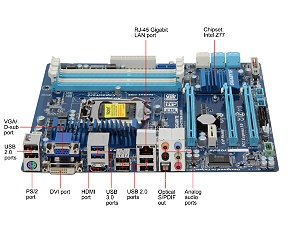GIGABYTE GA-Z77MX-D3H LGA 1155 Intel Z77 HDMI SATA 6Gb/s USB 3.0 Micro ATX Intel Motherboard