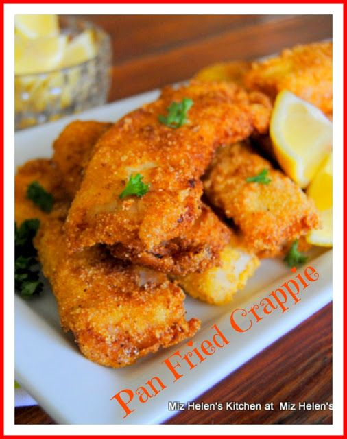 Best 10 Crappie Recipe Ideas On Pinterest Best Fish