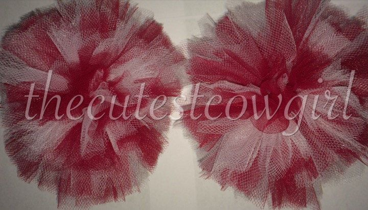 Boutique Custom Girls Tulle Ballerina Tutu Hair Accessories puffs Pom Poms Hair Bow Balls Red White Valentines Day  0 3 6 12 18 24 2 by TheCutestCowgirl on Etsy https://www.etsy.com/listing/220044131/boutique-custom-girls-tulle-ballerina