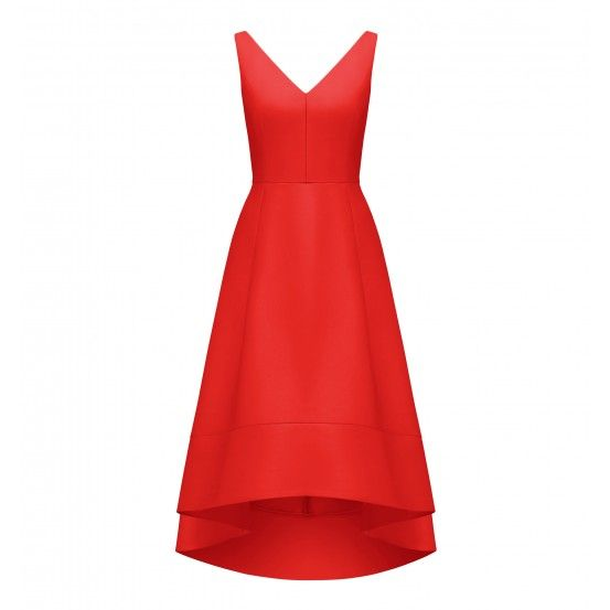 FOREVER NEW $189.99 Lydia V-neck Hi-lo Prom Dress