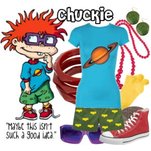 Chuckie inspired outfit.