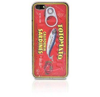 Tin Plate iPhone 5 case - Sardine Can