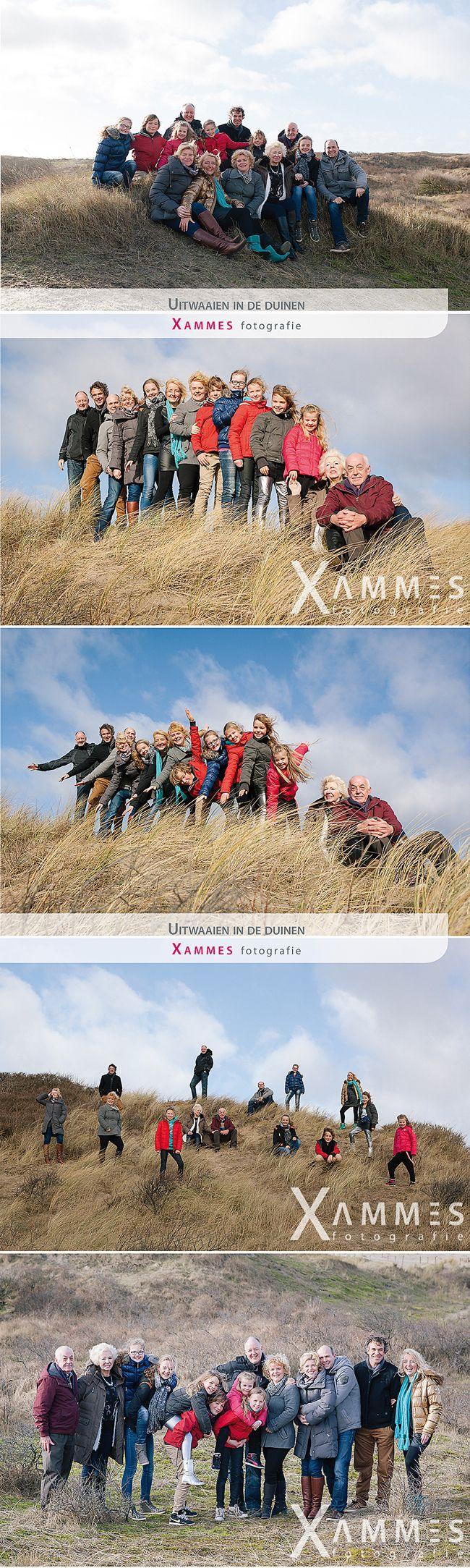 Groepsfotografie in de duinen, Xammes fotografie