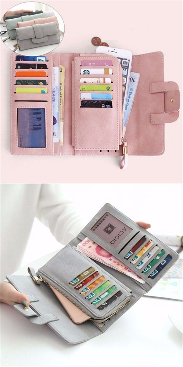 Iphone 5 wallets uk women stylish large capacity multi slot button hand long wallet 5.5 inch phone bag card holder #pier #1 #wallets #wallets #as #seen #on #tv #wallets #girl #wallets #ross #dress #less
