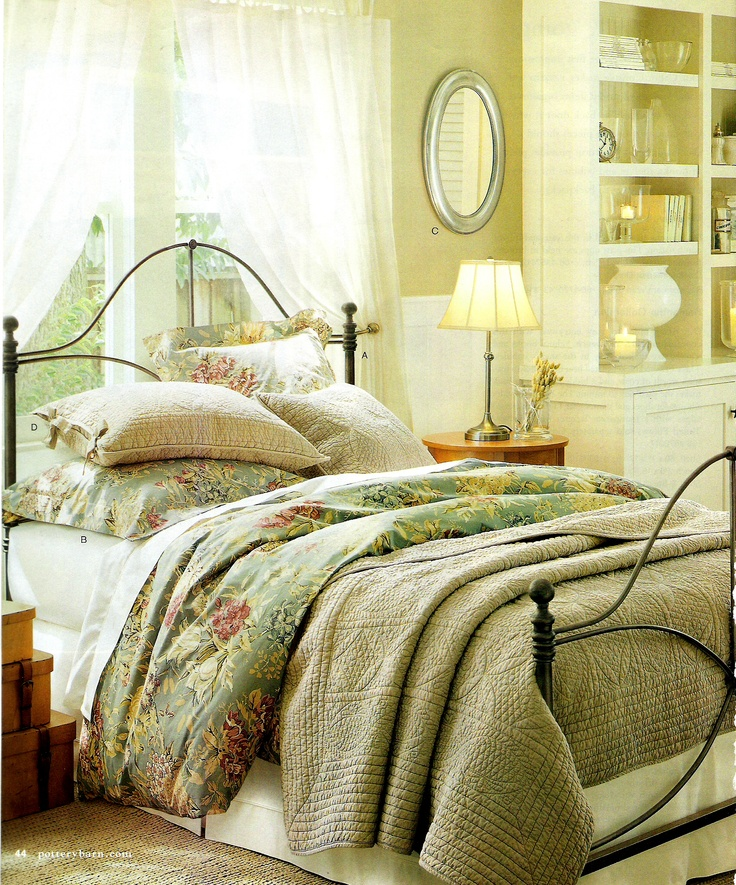 Pottery Barn Bedroom Decorating Ideas: 1280 Best *~The Green Meadow Cottage~* Images On Pinterest