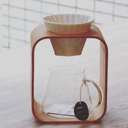 Snow top coffee drip maker #coffeelover #coffee #coffeetime #coffeebreak…