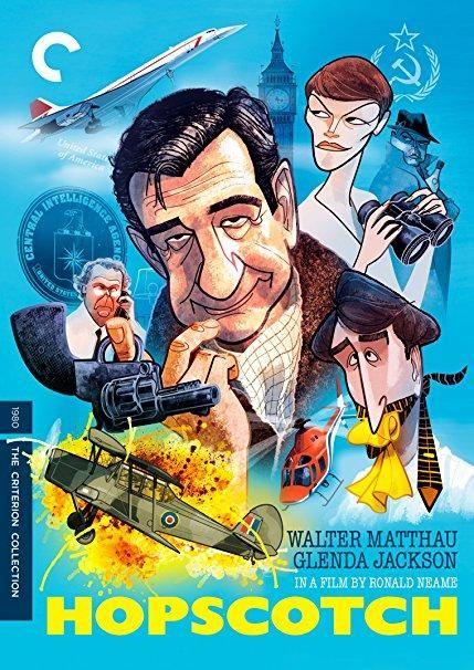 Glenda Jackson & Walter Matthau & Ronald Neame-Hopscotch The Criterion Collection