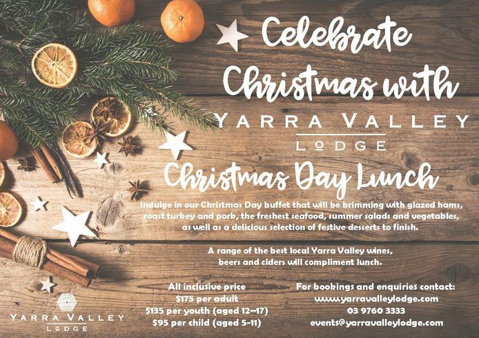 We may have just passed Christmas in July ... but Christmas in December will be here before you know it! Our Christmas Day Lunch is a popular event .. surround yourself with beautiful scenery, delicious food and let us do all the work for you! #yarravalleylodge #christmaslunch #christmasbuffet #yarravalleychristmas #christmasdayyarravalley #foodcoma